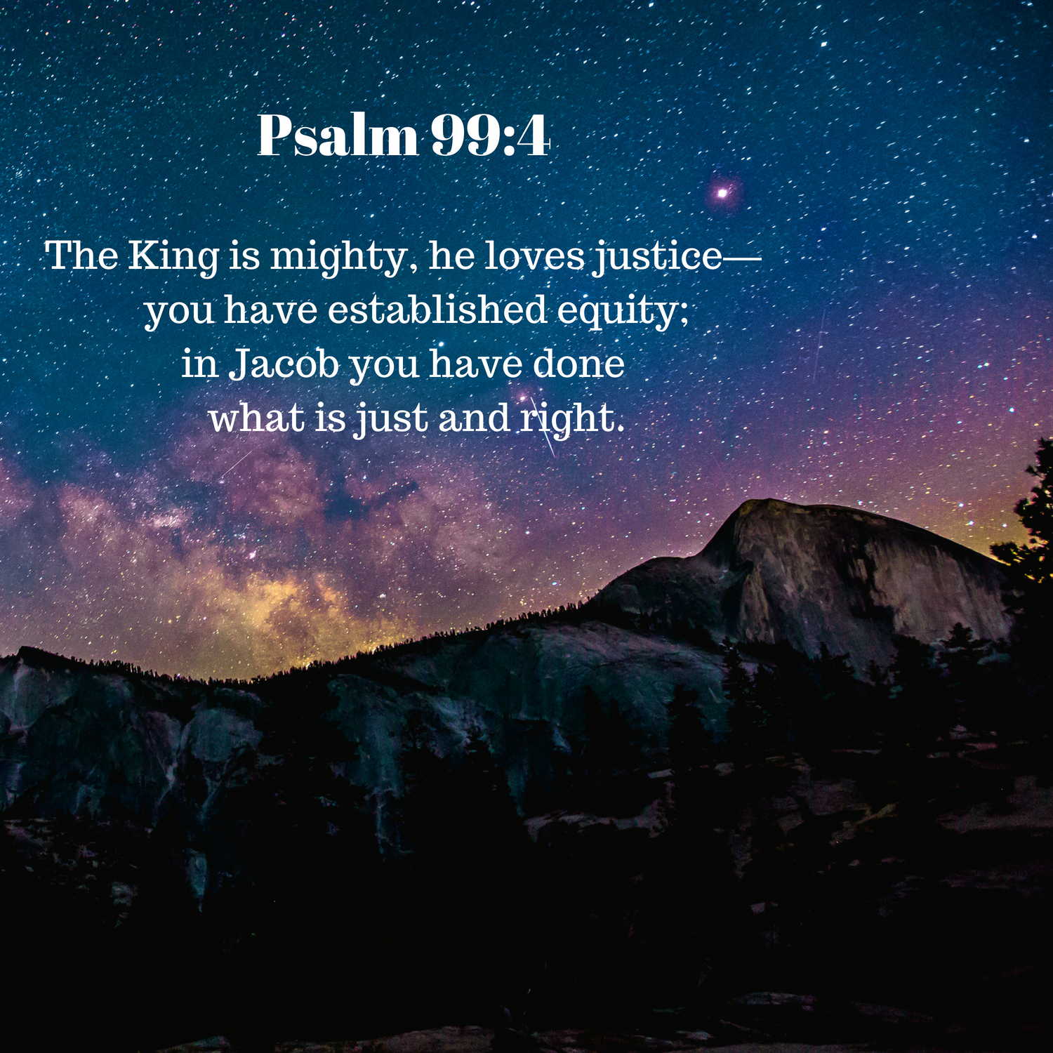 God's Reign from Heaven; His Justice on Earth